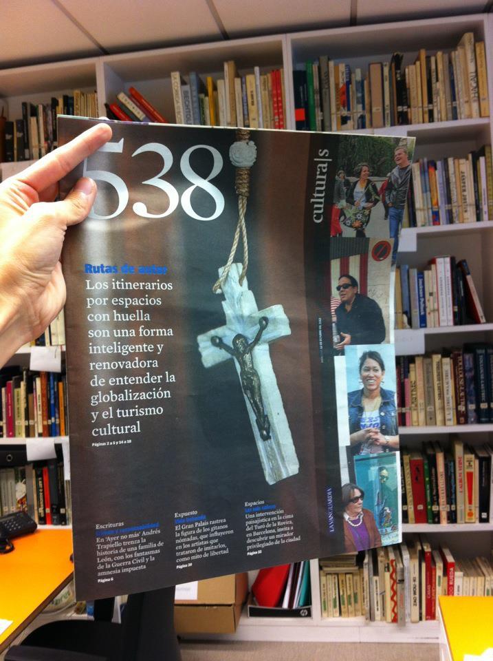 Ruta de autor en el Culturas de La Vanguardia