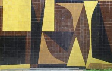 Gama de colores de los murales de la UCV